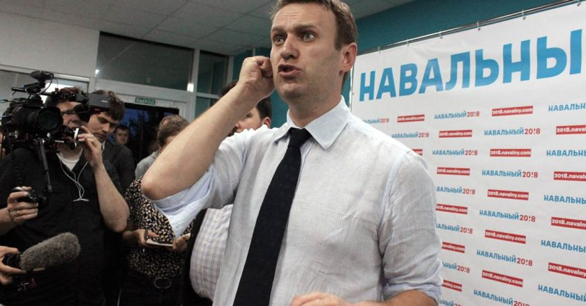 A chemical substance was found on Navalny's clothes and hair